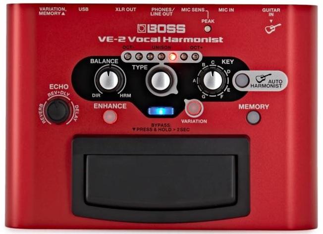 Boss VE-2 Vocal Harmonist