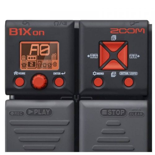 Zoom B1Xon Bass Multi Effects Pedal