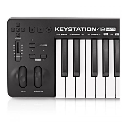 ban phim Midi Controller M-Audio KeyStation 49 MK3