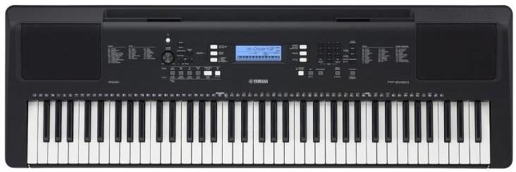 dan organ hoc tap Yamaha PSR-EW310
