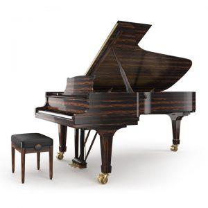 dan piano grand Steinway C-227