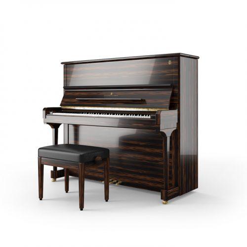 dan upright piano Steinway K132