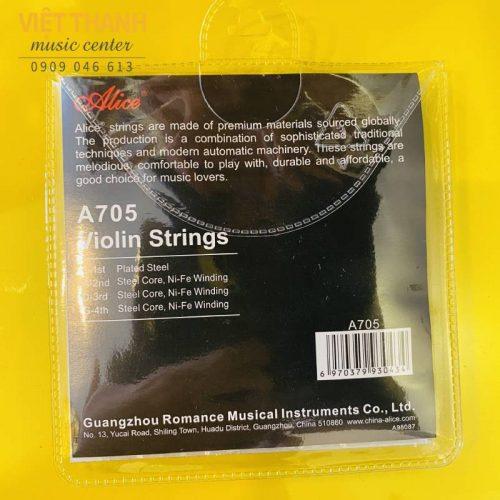 day dan violin Alice A705