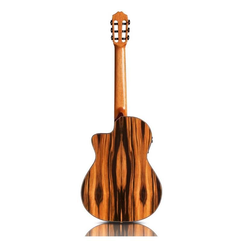 mat sau guitar Cordoba Espana 55FCE Negra Macassar