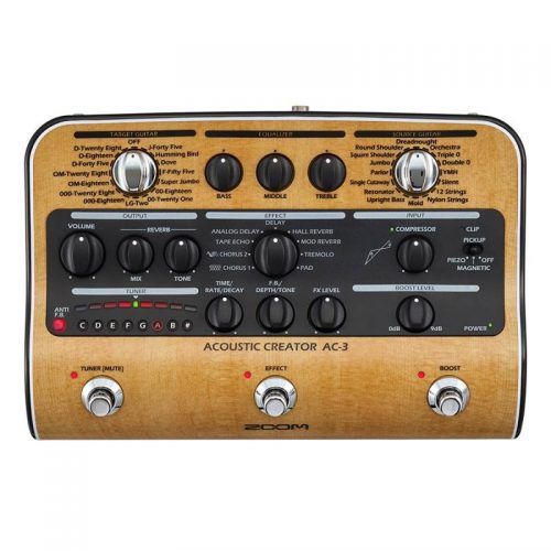 pho guitar Zoom AC-3