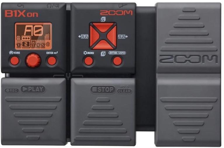 pho guitar Zoom B1Xon