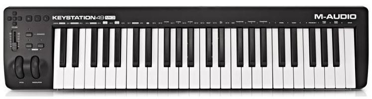 thiet bi phong thu M-Audio KeyStation 49 MK3