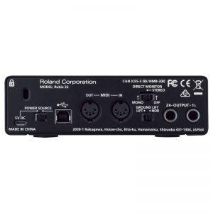 mat sau soundcard Roland Rubix-22