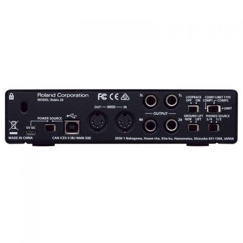 mat sau soundcard Roland Rubix24