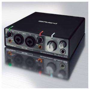 soundcard Roland Rubix-22