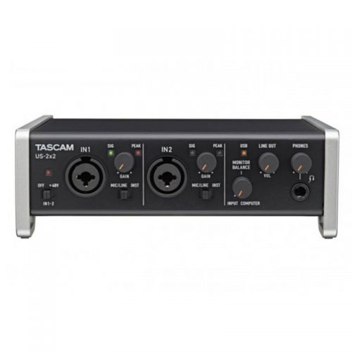 soundcard Tascam US-2x2