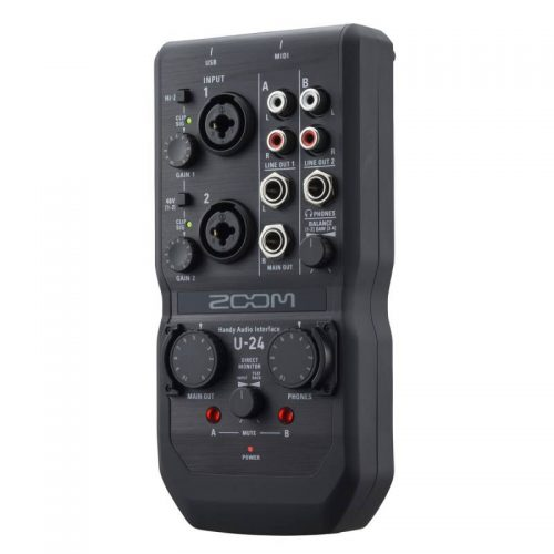 soundcard Zoom U24