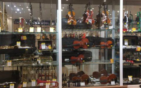 cua hang ban dan violin