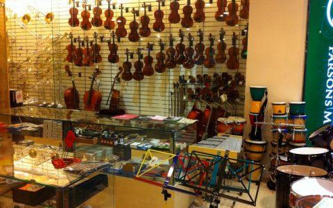 Cửa hàng bán đàn violin cao cấp