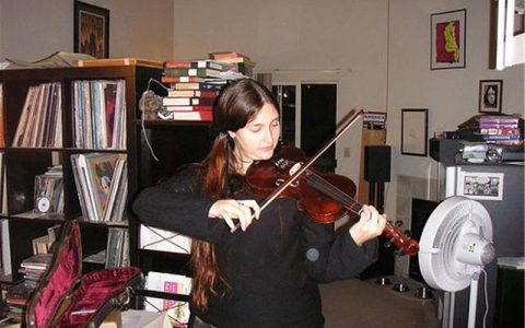 dan violin danh cho sinh vien