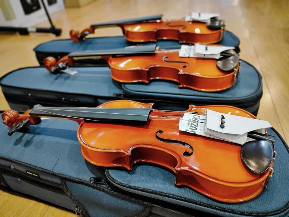 dan violin suzuki ban chay