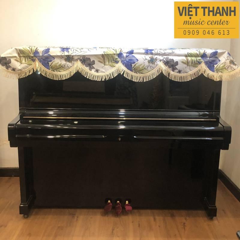 khan phu dan piano mau kem hoa tiet hoa