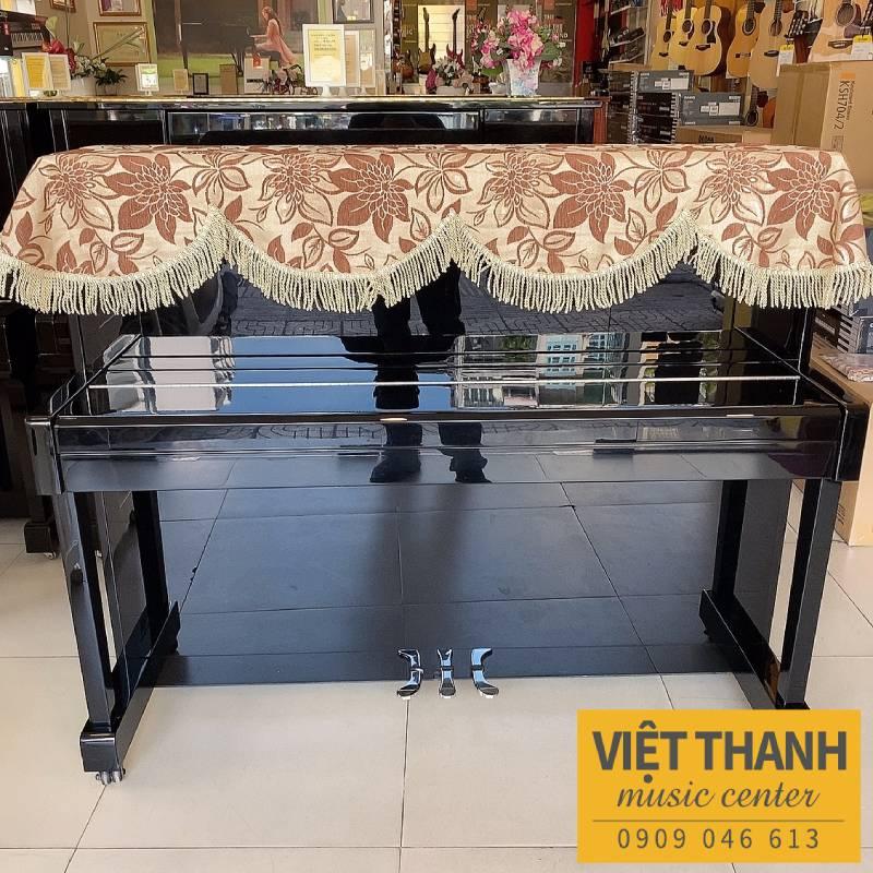 khan phu piano mau nau vang
