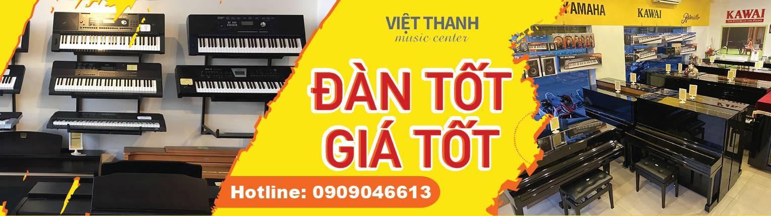 Âm Nhạc Việt Thanh – Piano, Organ, Guitar, Trống, Violin, Phòng Thu