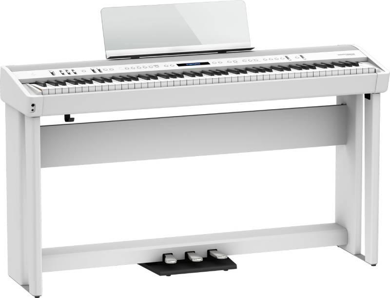 piano dien roland fp-90x mau trang