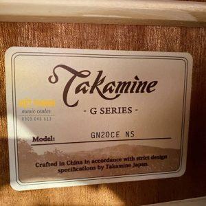 tem guitar Takamine GN20CE