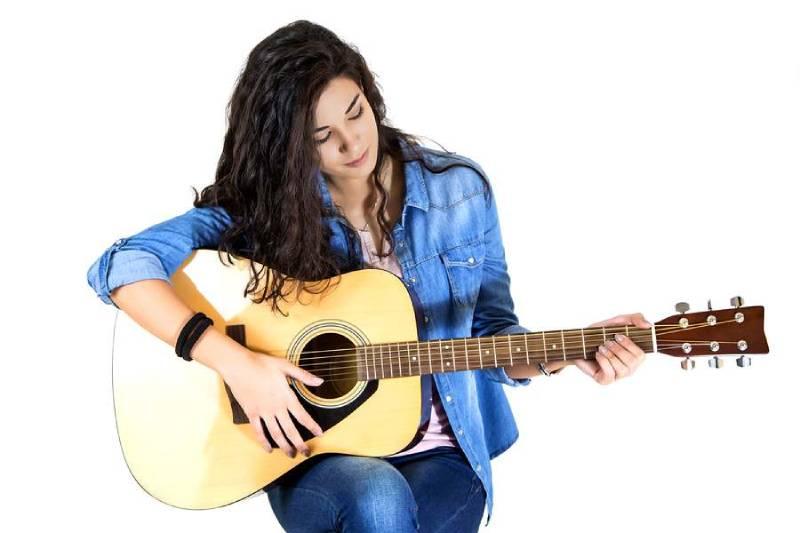 guitar acoustic cho nguoi moi bat dau