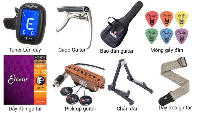 phu kien dan guitar