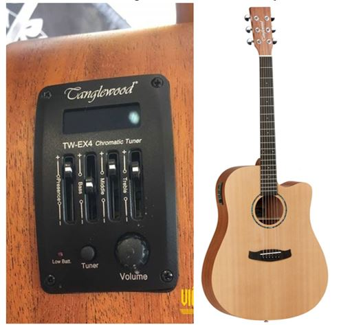 Guitar Acoustic Tanglewood TWR2DCE co eq