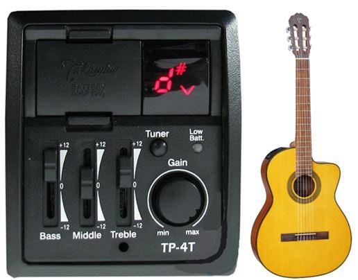 Guitar Classic Takamine GC1CE NAT co eq