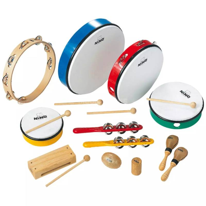 Meinl Percussion set NinoSET12-WB