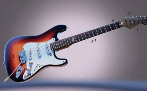 Hiểu các bộ phận của cây đàn guitar