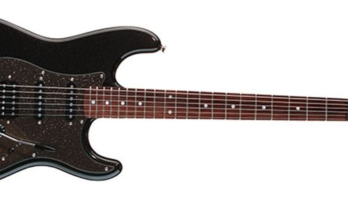 Squier® Affinity Series™ Stratocaster® HSS, Rosewood Fingerboard, Montego Black Metallic 0370700564