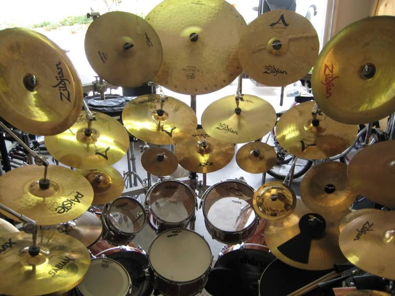 cymbal trong jazz
