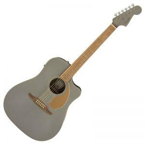 guitar Fender Redondo Player mau xam