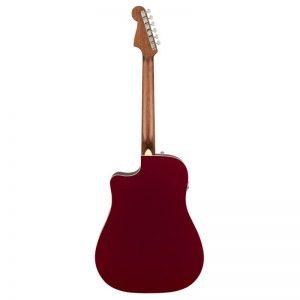 mat sau guitar Fender Redondo Player mau do