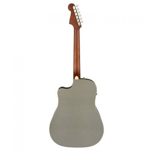 mat sau guitar Fender Redondo Player mau xam