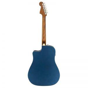 mat sau guitar Fender Redondo Player xanh duong