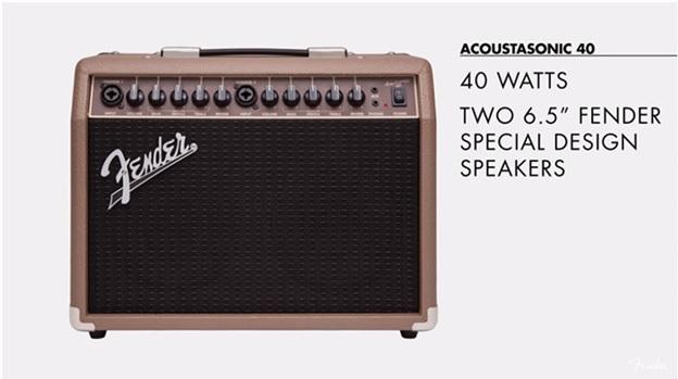 Loa Fender Acoustasonic 40
