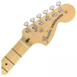 can dan guitar dien fender american performer stratocaster hss mn satin surf green