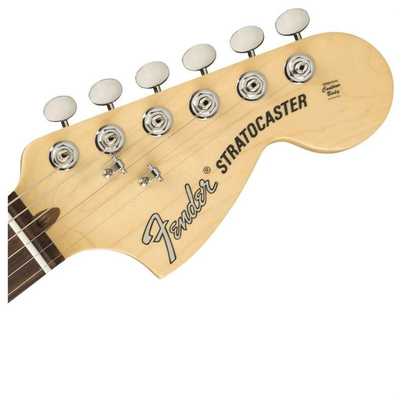 can dan guitar fender american performer stratocaster rw honey burst