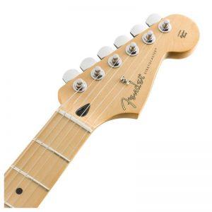can dan guitar fender player stratocaster hss mn polar white