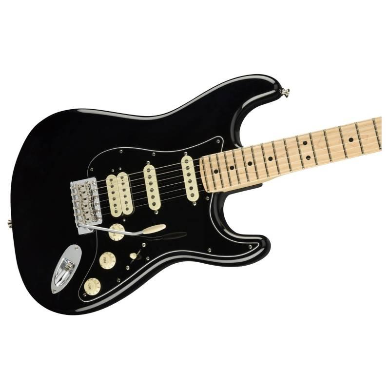 dan guitar dien fender american performer stratocaster hss mn black