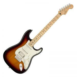 dan guitar dien fender player stratocaster hss mn 3 color sunburst