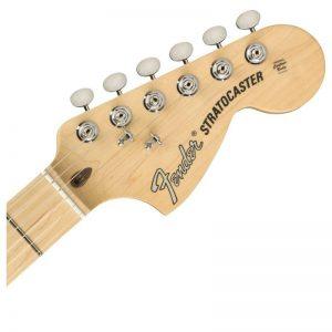 dau dan guitar dien fender american performer stratocaster hss mn black