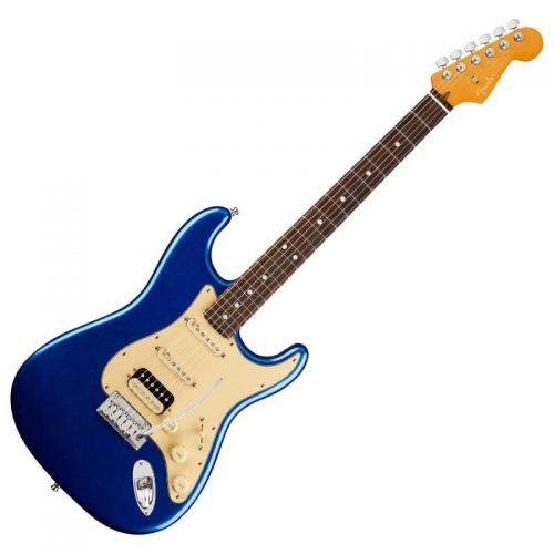Fender American Ultra Stratocaster HSS RW, Cobra Blue