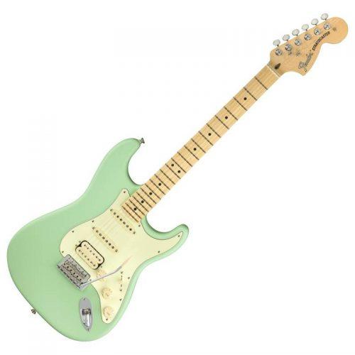 Fender American Performer Stratocaster HSS MN, Satin Surf Green