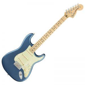 guitar dien fender american performer stratocaster mn lake placid blue