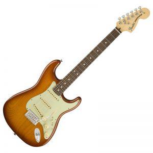 guitar dien fender american performer stratocaster rw honey burst