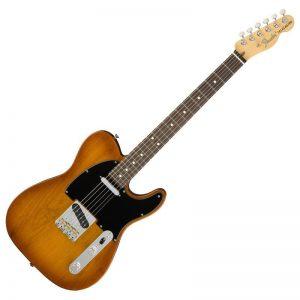 guitar dien fender american performer telecaster rw honey burst