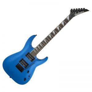 guitar dien jackson series dinky arch top js22 dka metallic blue